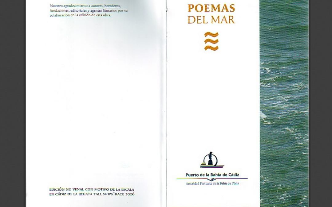 Poetry of the sea and Cadiz