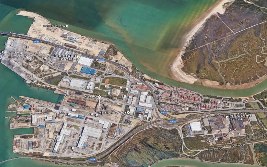 La Autoridad Portuaria de la Bahía de Cádiz avanza en la adscripción de nuevos terrenos a su zona de servicio