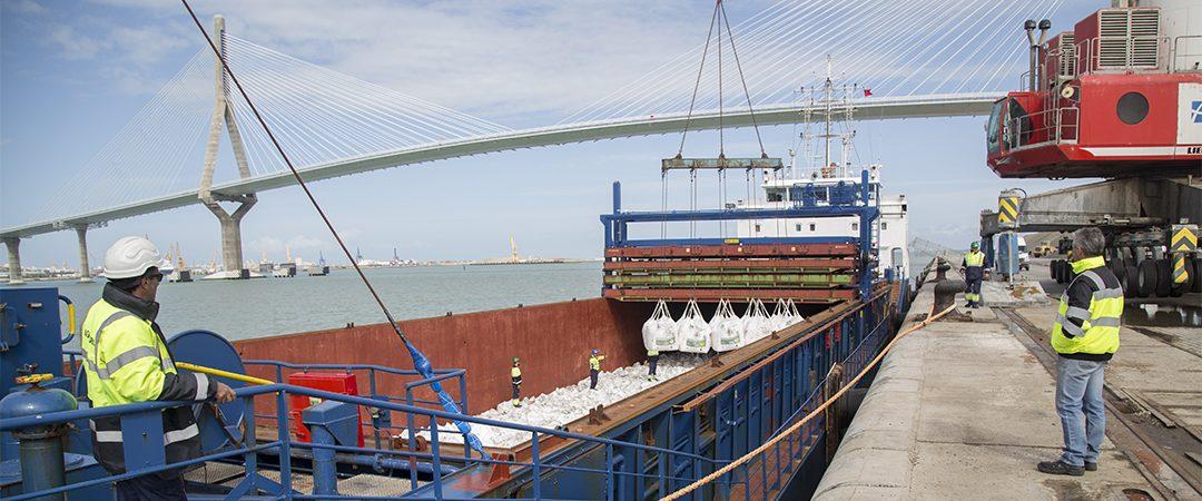 La actividad portuaria crece un 12 por ciento en la Bahía de Cádiz en 2019