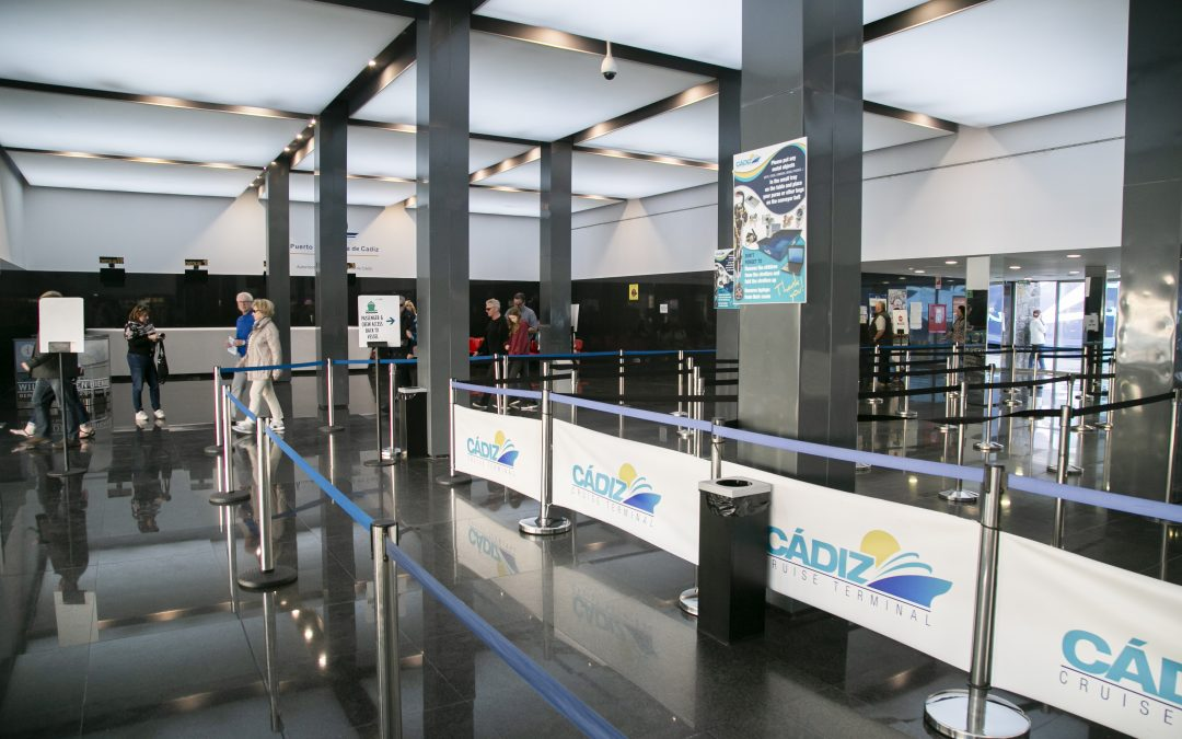 The Port Authority is working on the drafting of the cruise terminal passenger service specifications