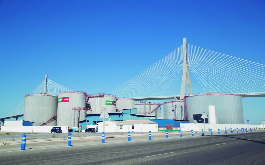 Port traffic grows by 14.36 percent in the Bay of Cadiz in the first four months