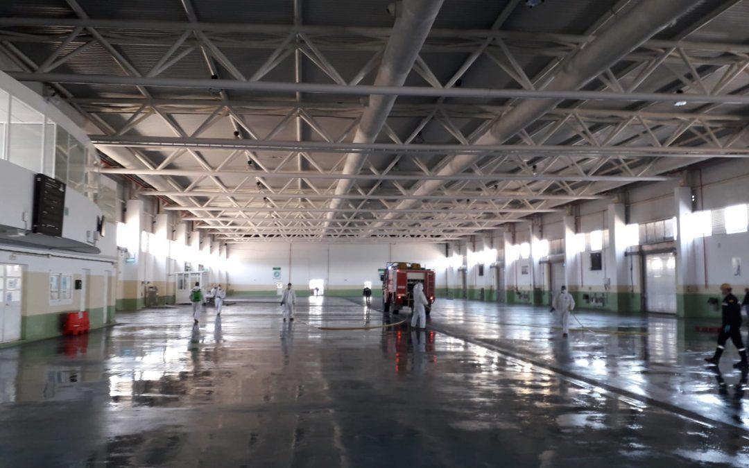 La Autoridad Portuaria incrementa las medidas de protección y seguridad en sus instalaciones