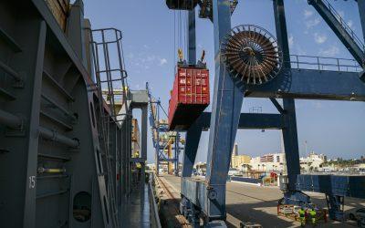 El tráfico portuario en la Bahía de Cádiz crece un 15 por ciento en el primer semestre