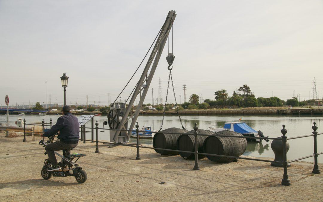 La Autoridad Portuaria y el Ayuntamiento de El Puerto recuperan el patrimonio portuario de la ciudad