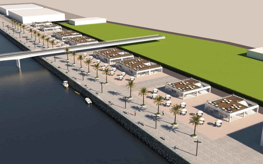 The Guadalete River will become the central axis and heart of El Puerto, integrating both banks in the urban centre