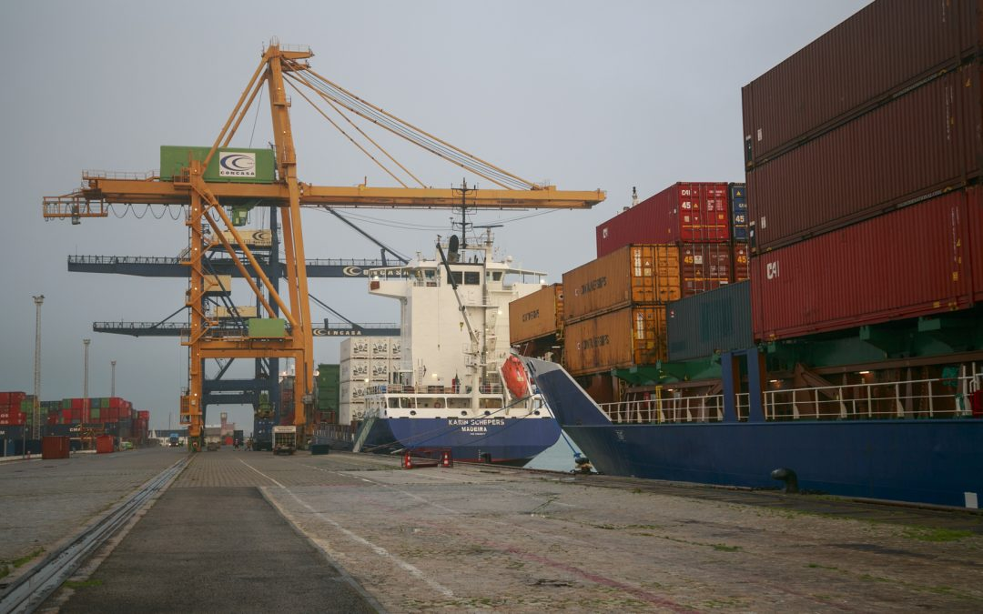 Freight traffic grows by 19% in November in the Bay of Cadiz