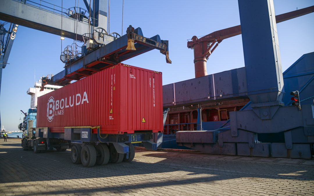 The Port of Cadiz leads the growth of general cargo in the state system in 2020