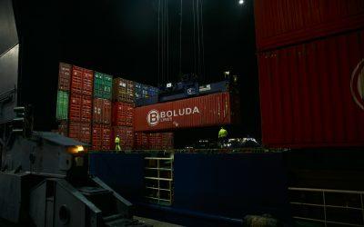 El tráfico de mercancías crece un 13 por ciento en los dos primeros meses de 2021 en el Puerto de Cádiz