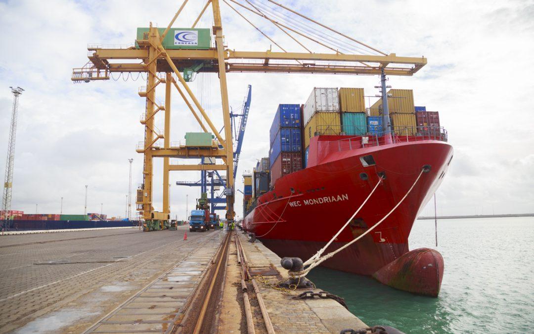 El tráfico portuario crece en la Bahía de Cádiz un 4 por ciento en el primer trimestre de 2021