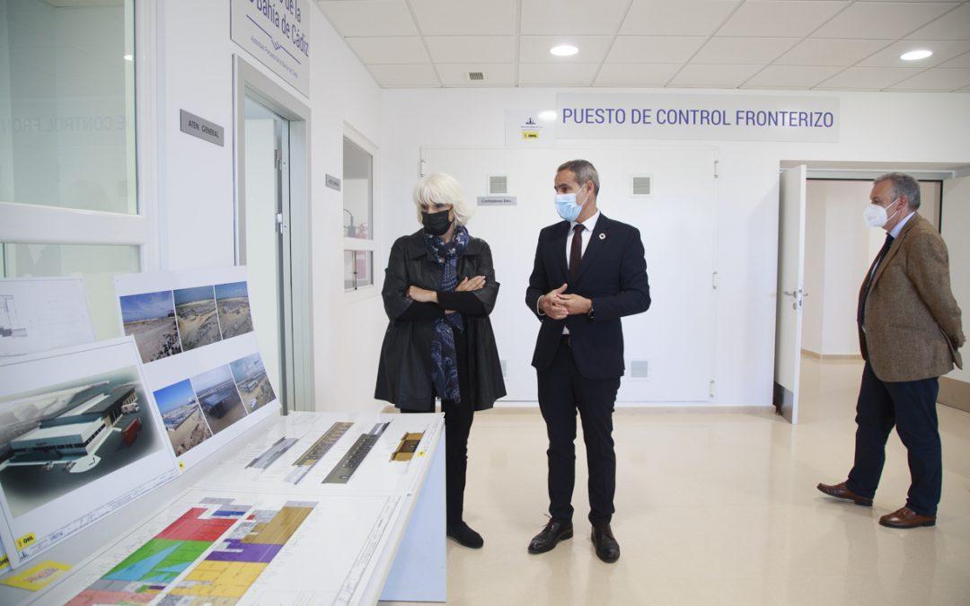 El nuevo Puesto de Control Fronterizo de Cádiz mejorará los controles sanitarios en frontera para garantizar la seguridad de importaciones y exportaciones