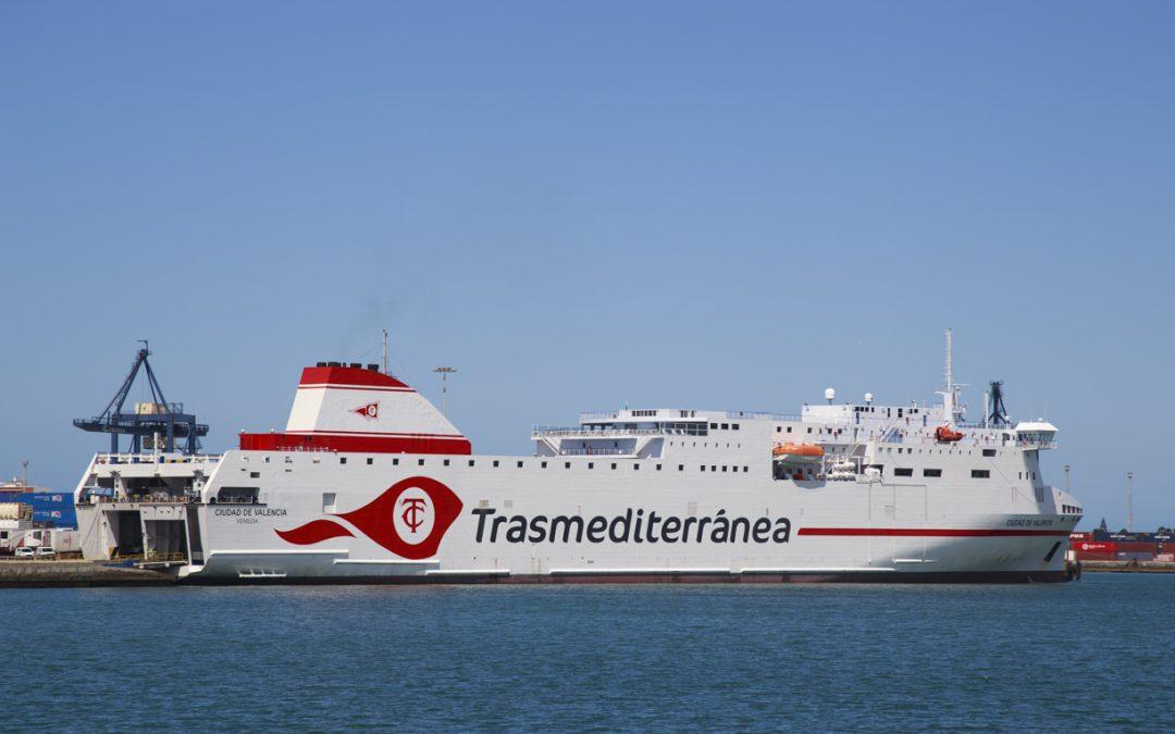 El tráfico total general crece un 6,37 por ciento en el primer cuatrimestre en el Puerto de la Bahía de Cádiz