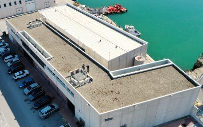 La Autoridad Portuaria refuerza su apuesta por la sostenibilidad con la instalación de una nueva planta fotovoltaica en el edificio de Talleres