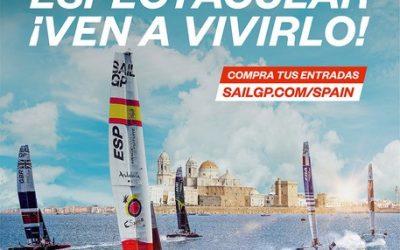 El Spain Sail Grand Prix | Andalucía – Cádiz vende la mitad de sus entradas a un mes de su celebración