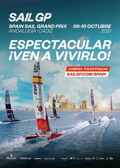 El Spain Sail Grand Prix   Andalucía – Cádiz vende la mitad de sus entradas a un mes de su celebración